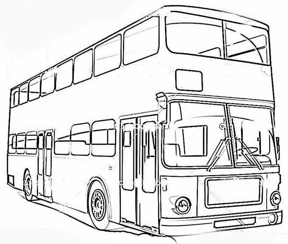 Раскраска автобус | andrey-eltsov.ru