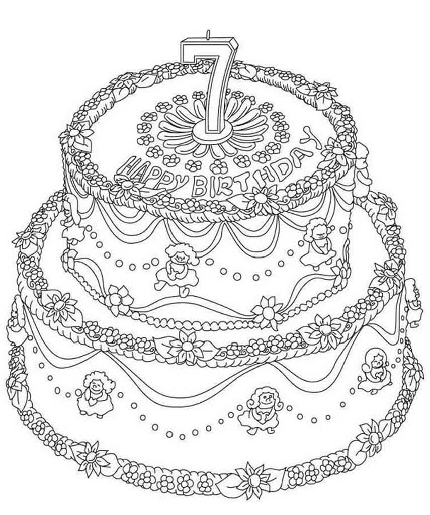 двухъярусный торт фото