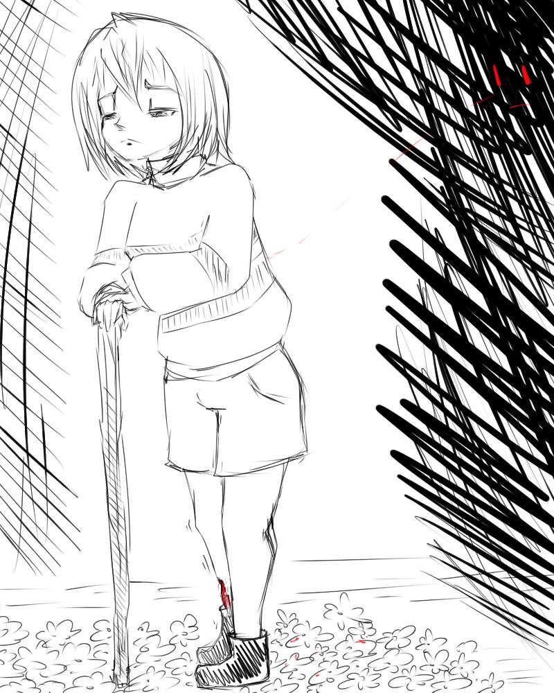 Раскраска Фриск 22