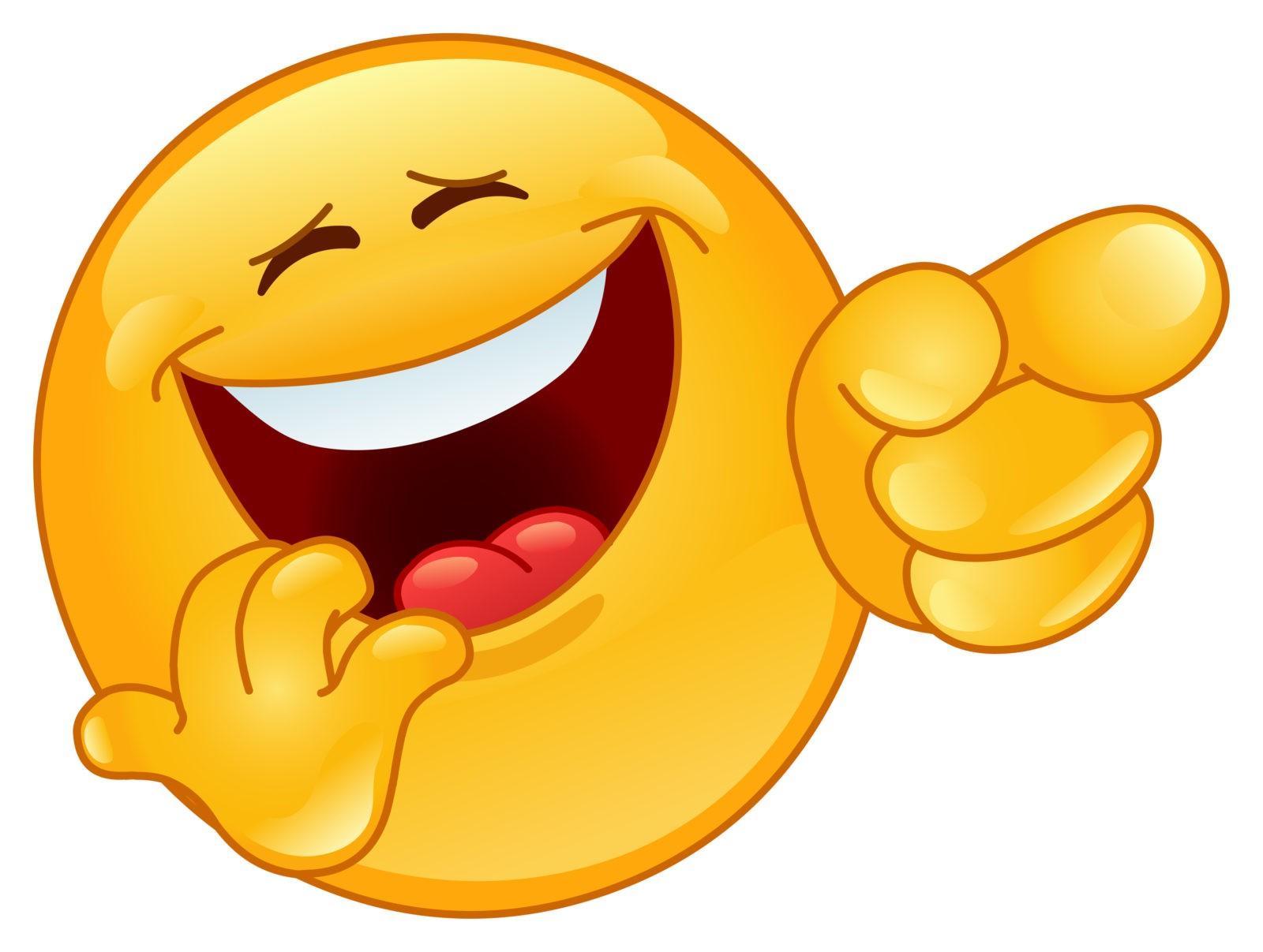 Смайлик смех 26