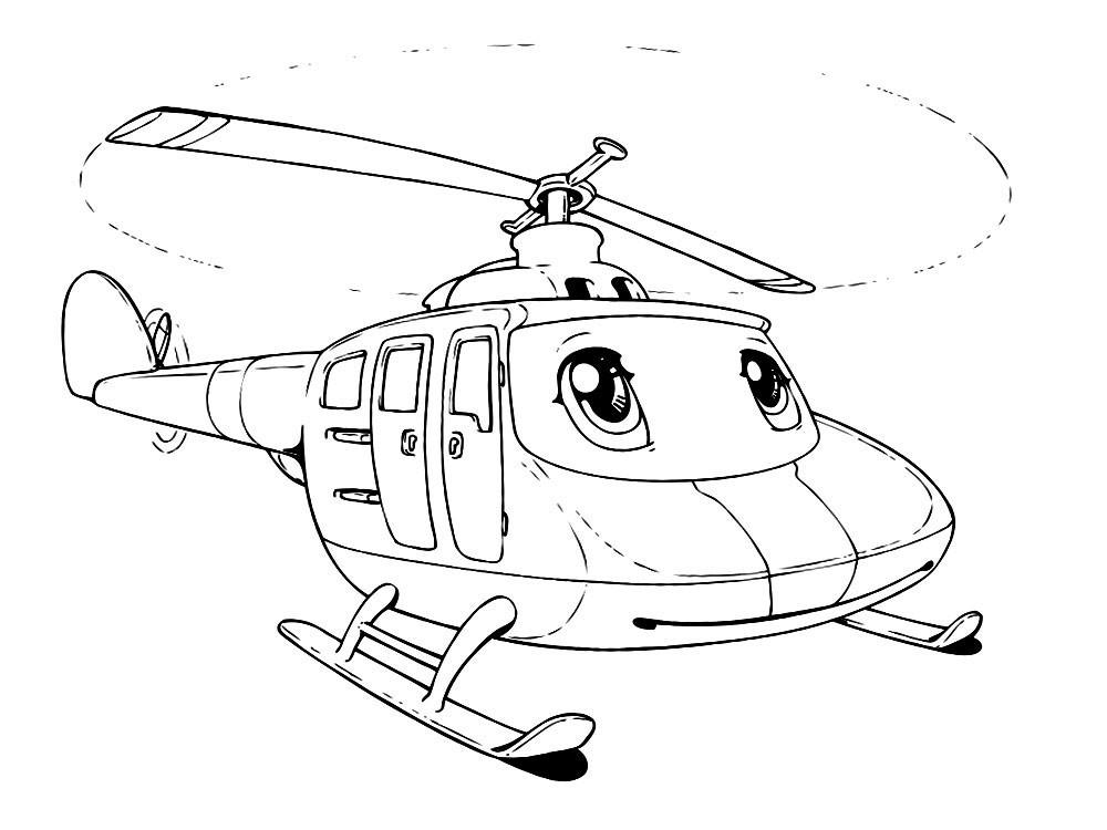 Вертолёт с глазами