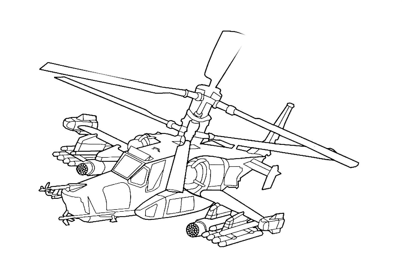 Вертолёт чёрная акула 4