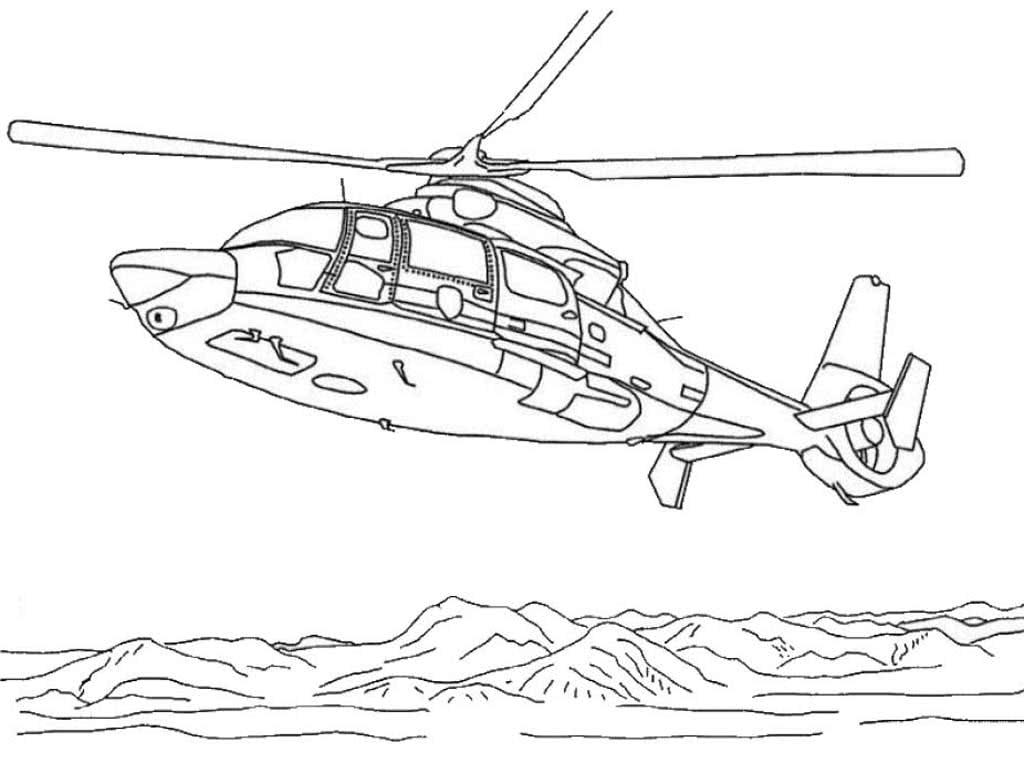 Вертолёт фото