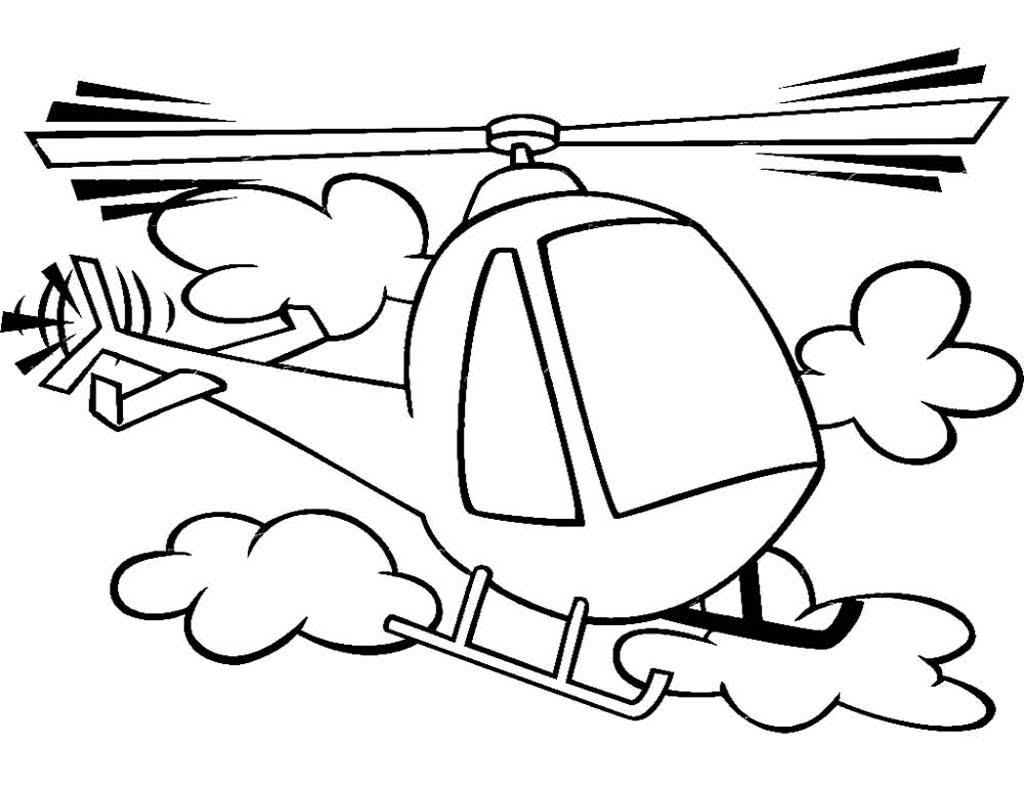 Вертолёт с лыжами