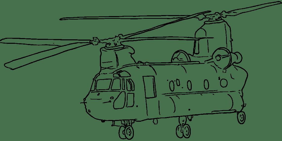Вертолёт с двумя винтами