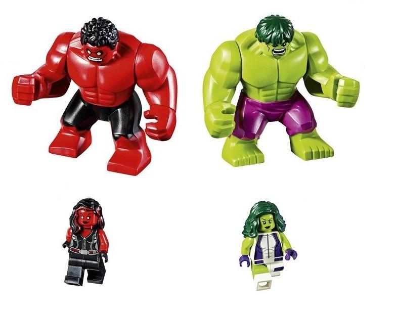 Игрушки лего Халк