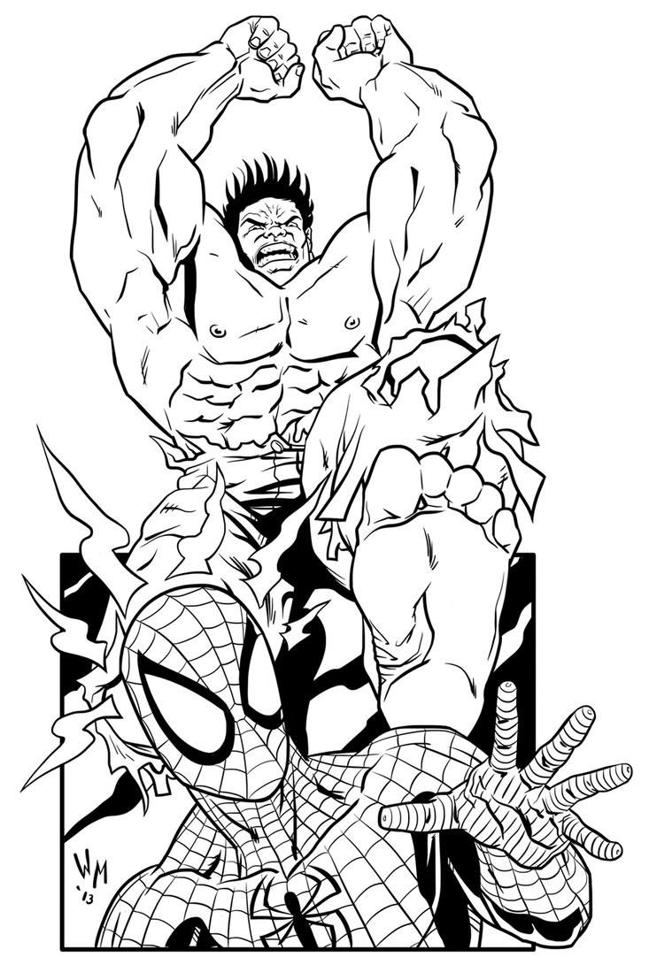 Халк против человека паука