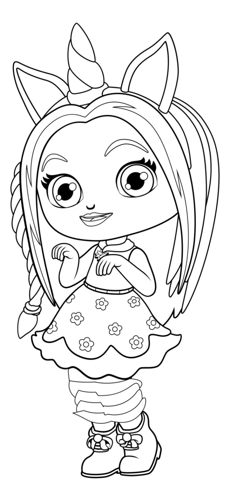 Раскраска кукла Andrey Eltsov Ru