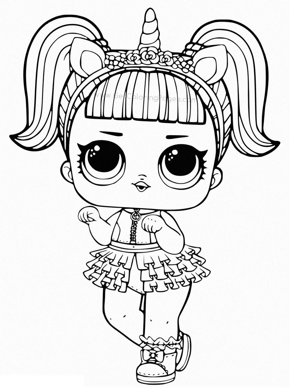 Кукла Лол единорог 22