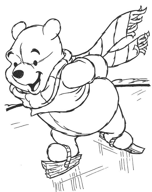 Винни Пух на коньках