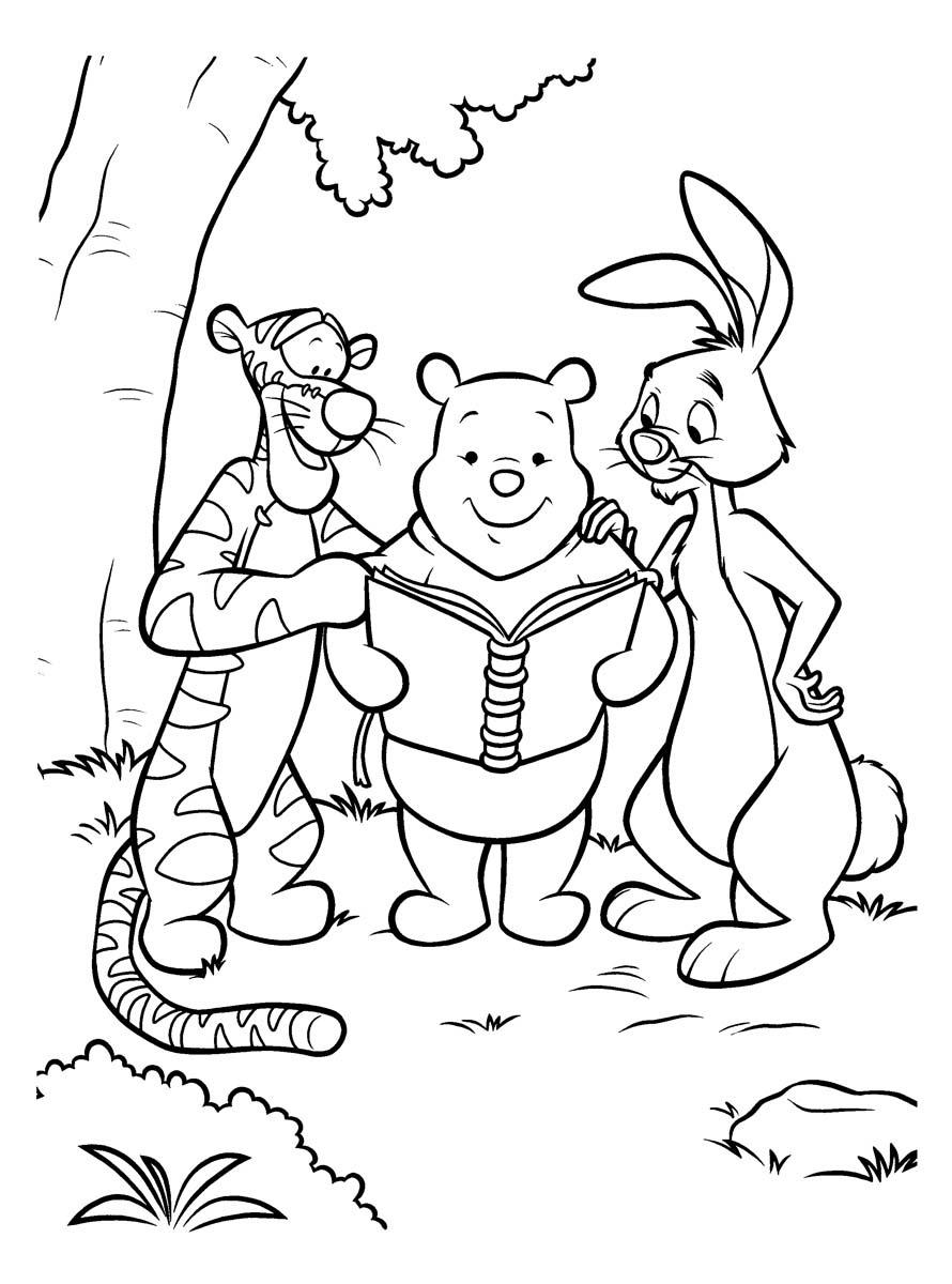 Винни Пух и кролик