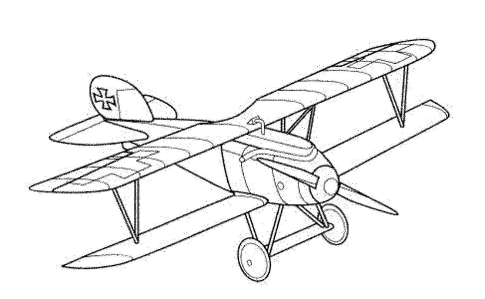 Самолёт немецкий