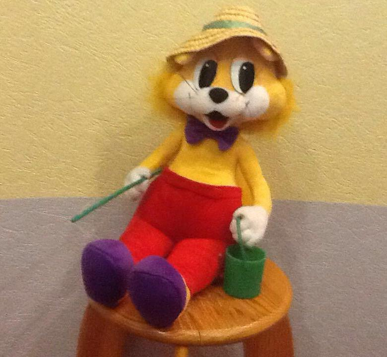 Игрушка кот Леопольд 2