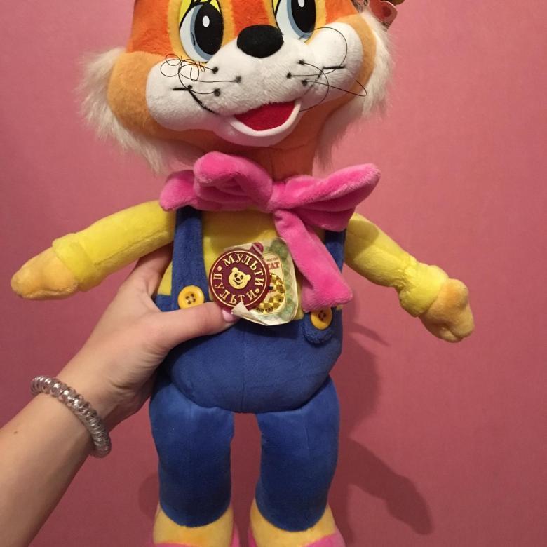Игрушка кот Леопольд 3
