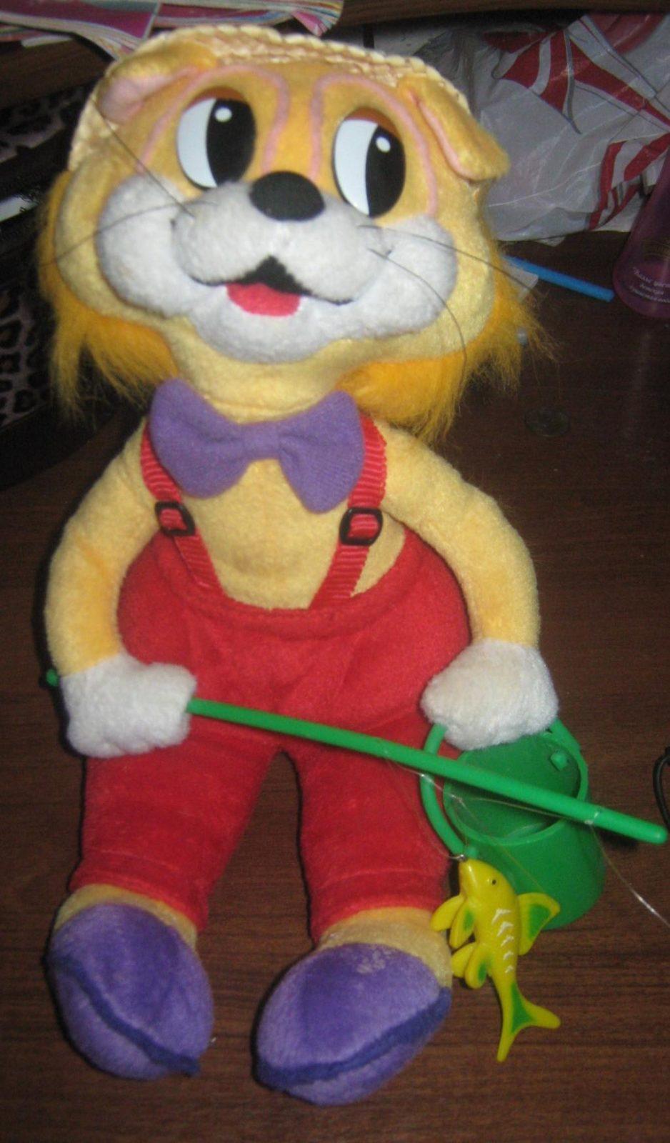Игрушка кот Леопольд