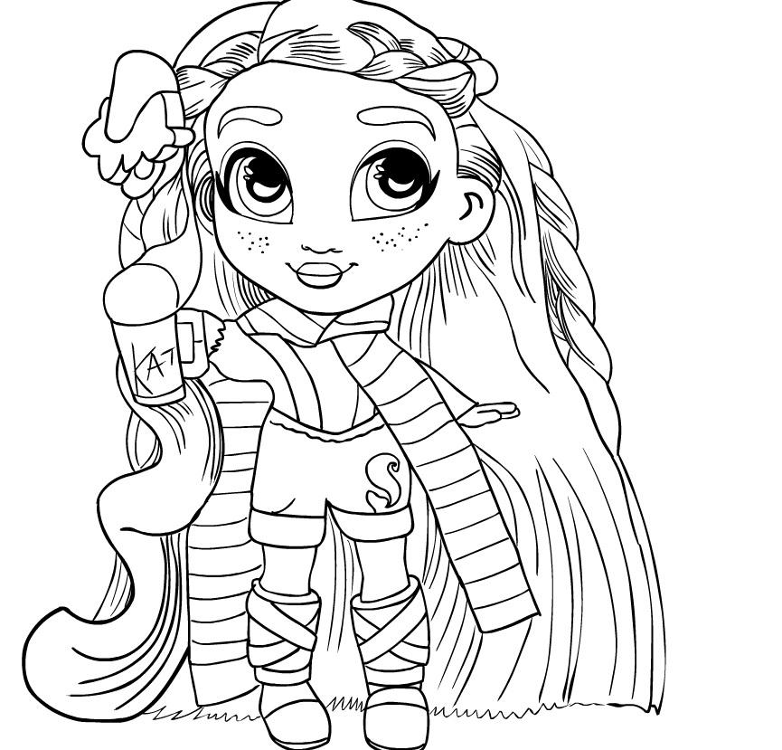Кукла hairdorables 5