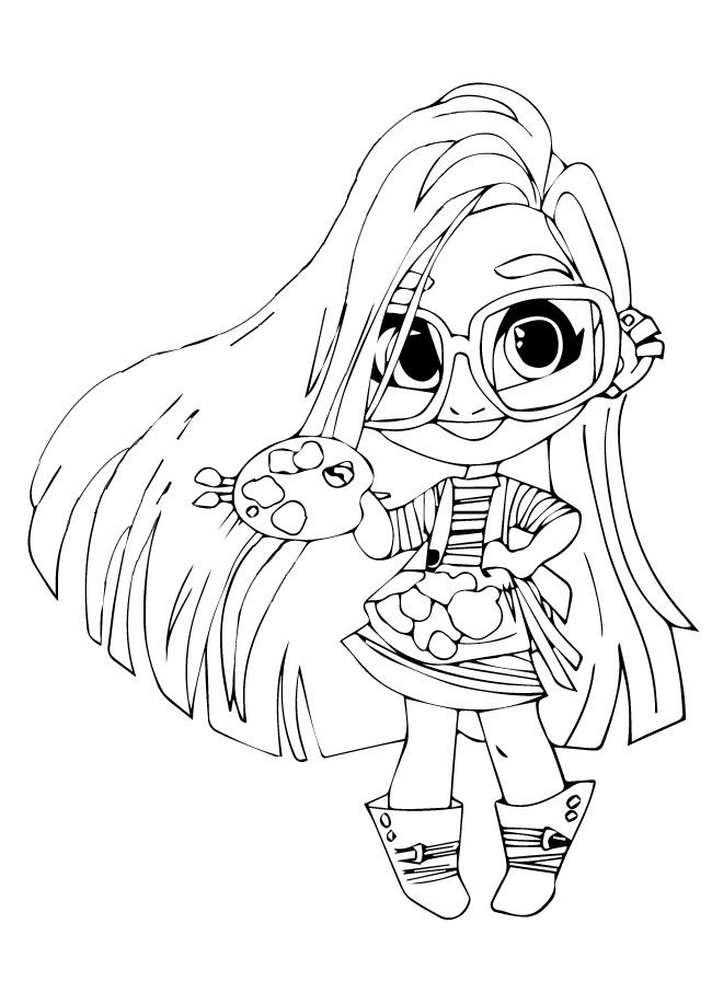 кукла Хэйрдораблз