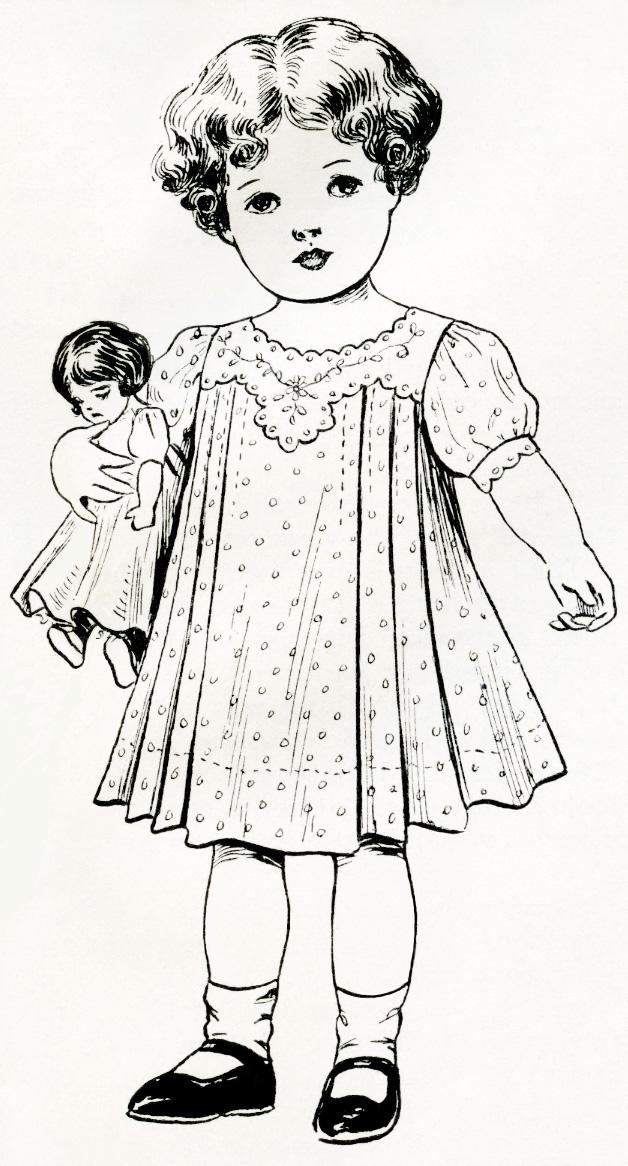 Ретро кукла
