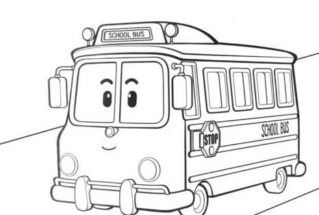 Школьный автобус Скулби