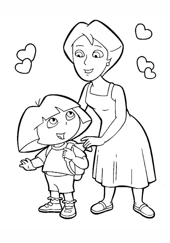 Мама Даши-путешественницы