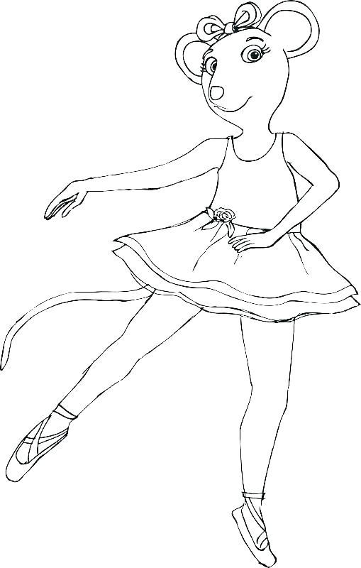 Мышь балерина 3