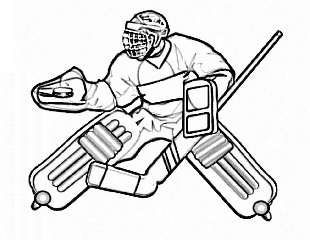 Вратарь в хоккеи