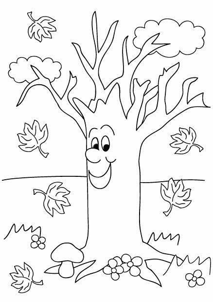 Мультяшное дерево
