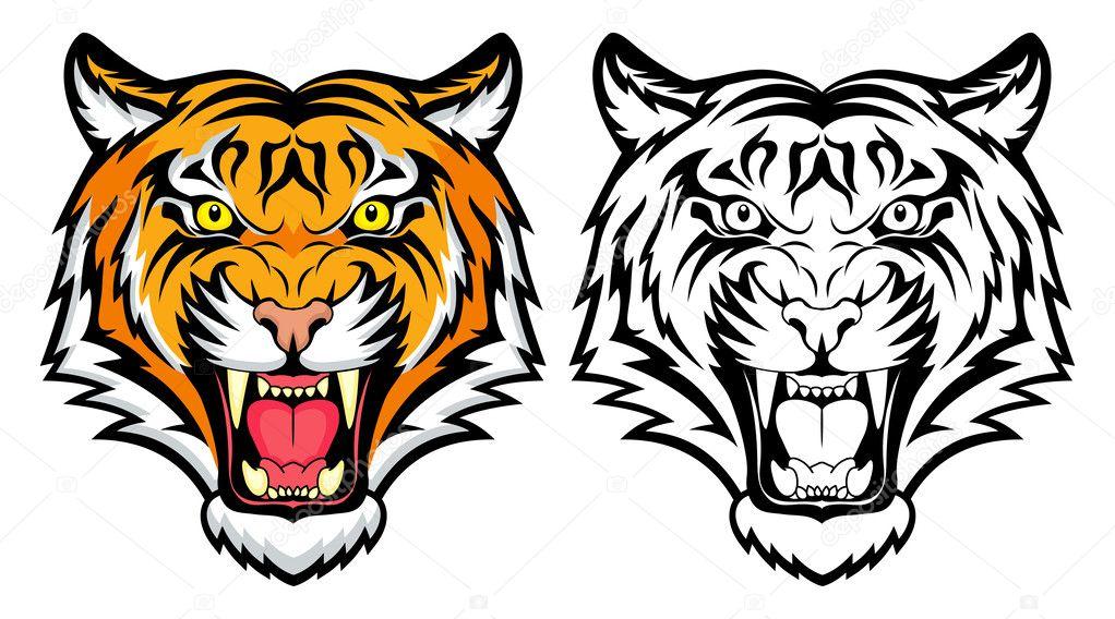 морда тигра 11
