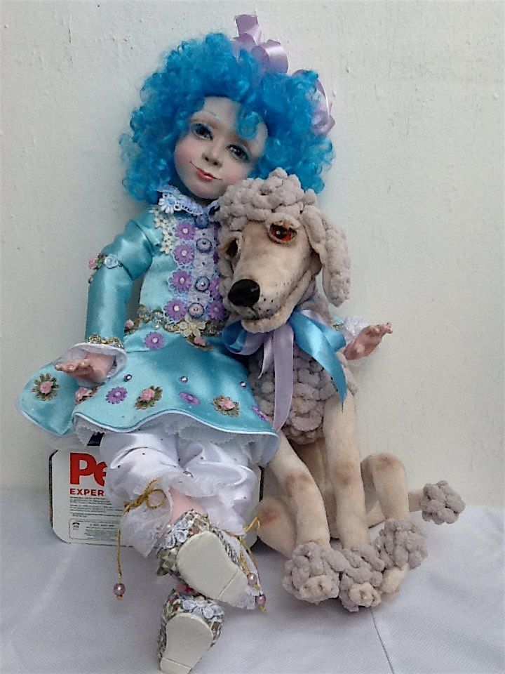 Куклы Мальвина и Артемон