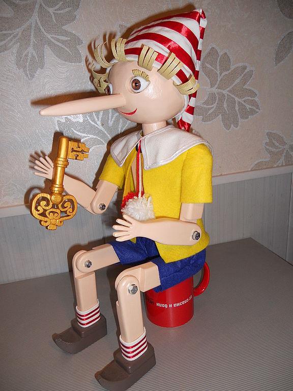 кукла Буратино 7