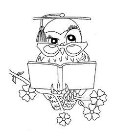 Раскраска сова мудрая