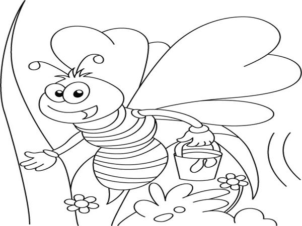 мультяшная пчела 5