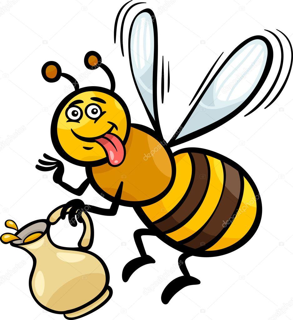 раскрашенная пчела