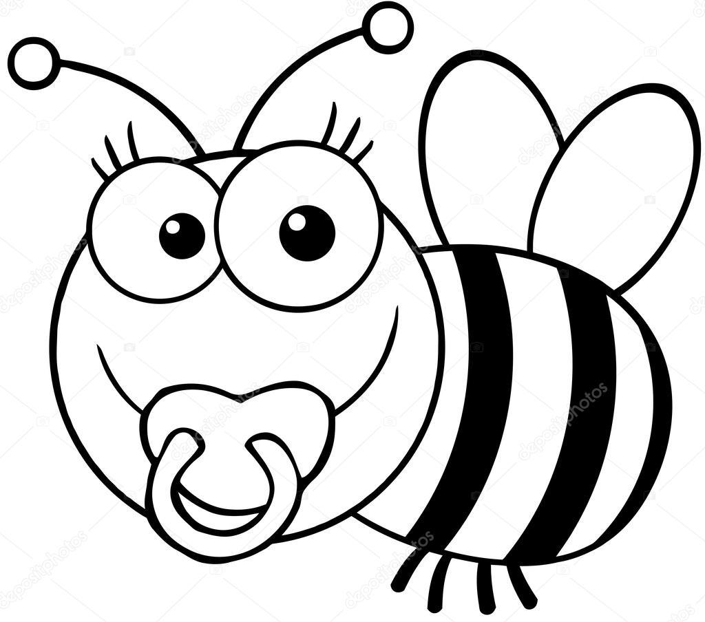 Смешная пчёлка
