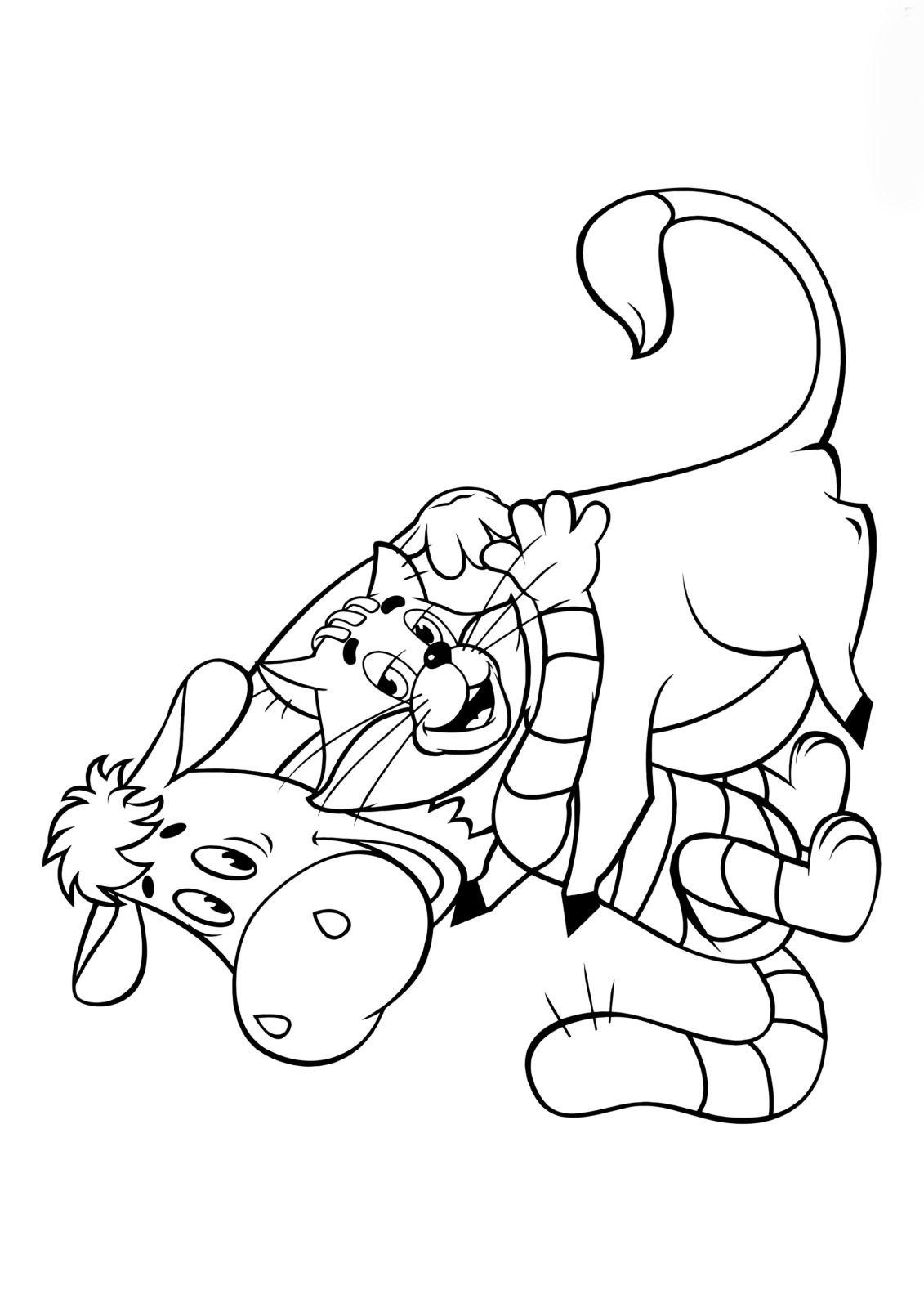 Кот Матроскин с коровой 7