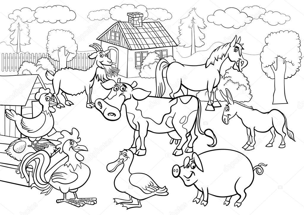 Раскраска корова 21