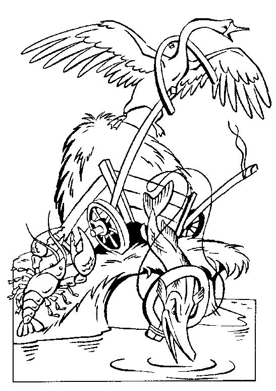 Лебедь, Рак и Щука 111