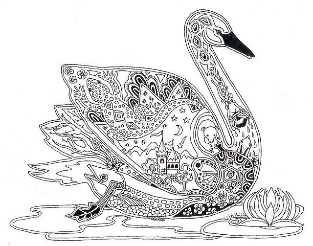 Лебедь антистресс