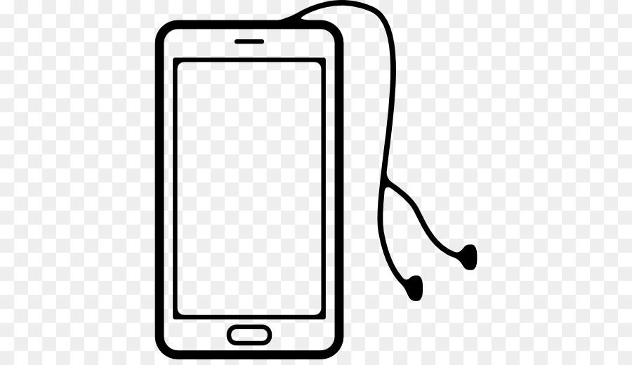 сотовый телефон с наушниками