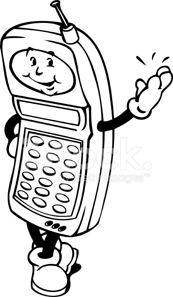 Мультяшный телефон 5