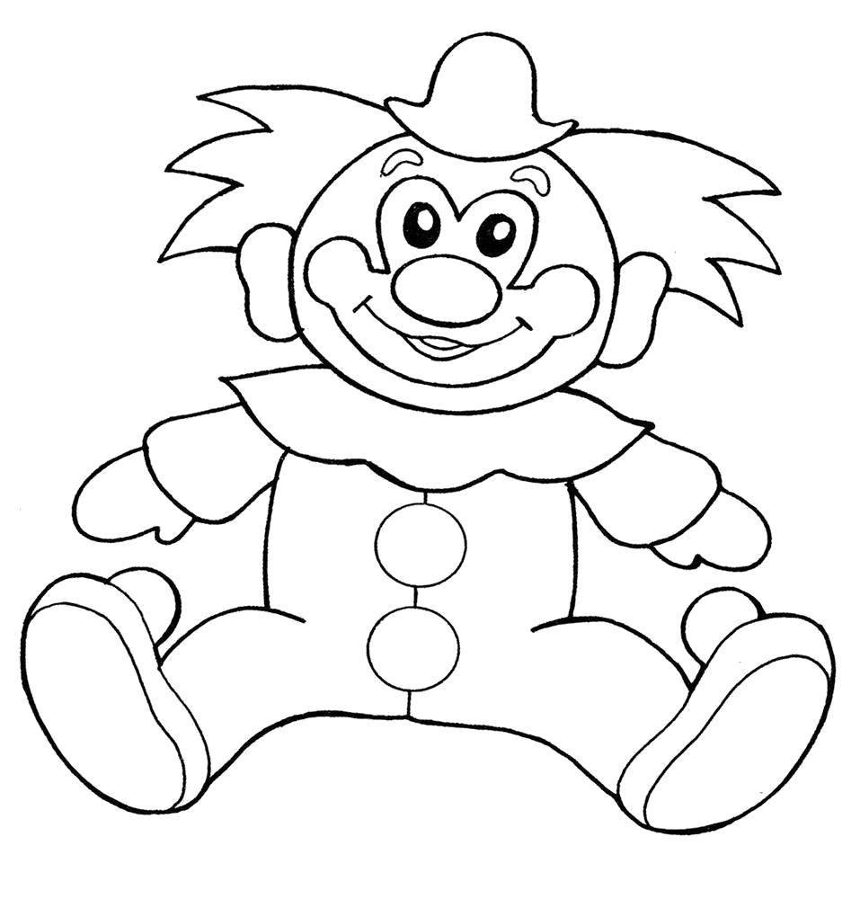 Игрушка клоун