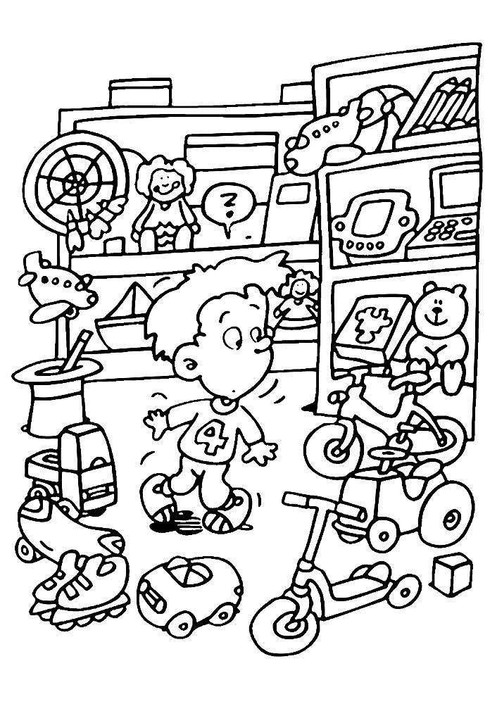 магазин игрушек фото