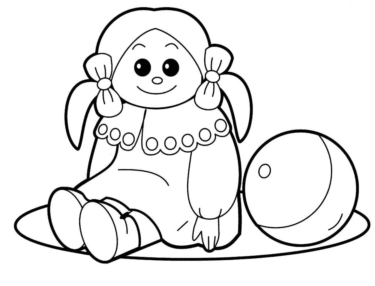 Игрушка кукла 4