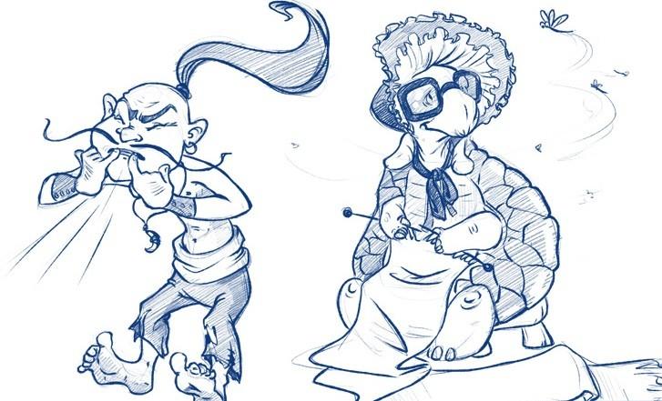 Тортилла и соловей разбойник