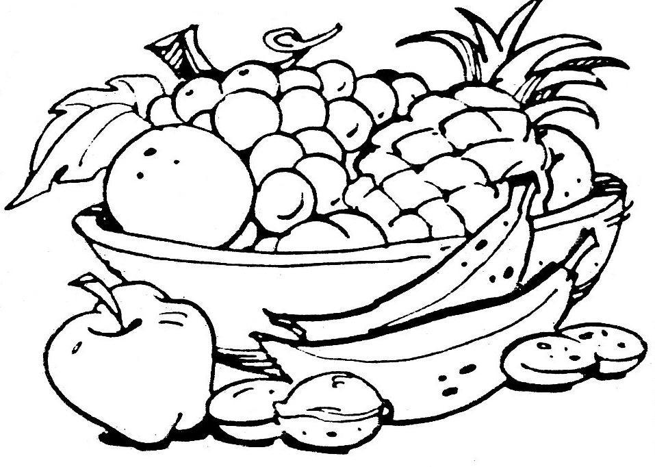 ананас в тарелке 44