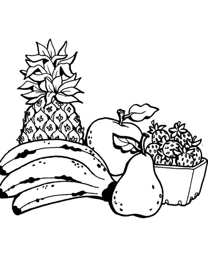 ананас на столе 5