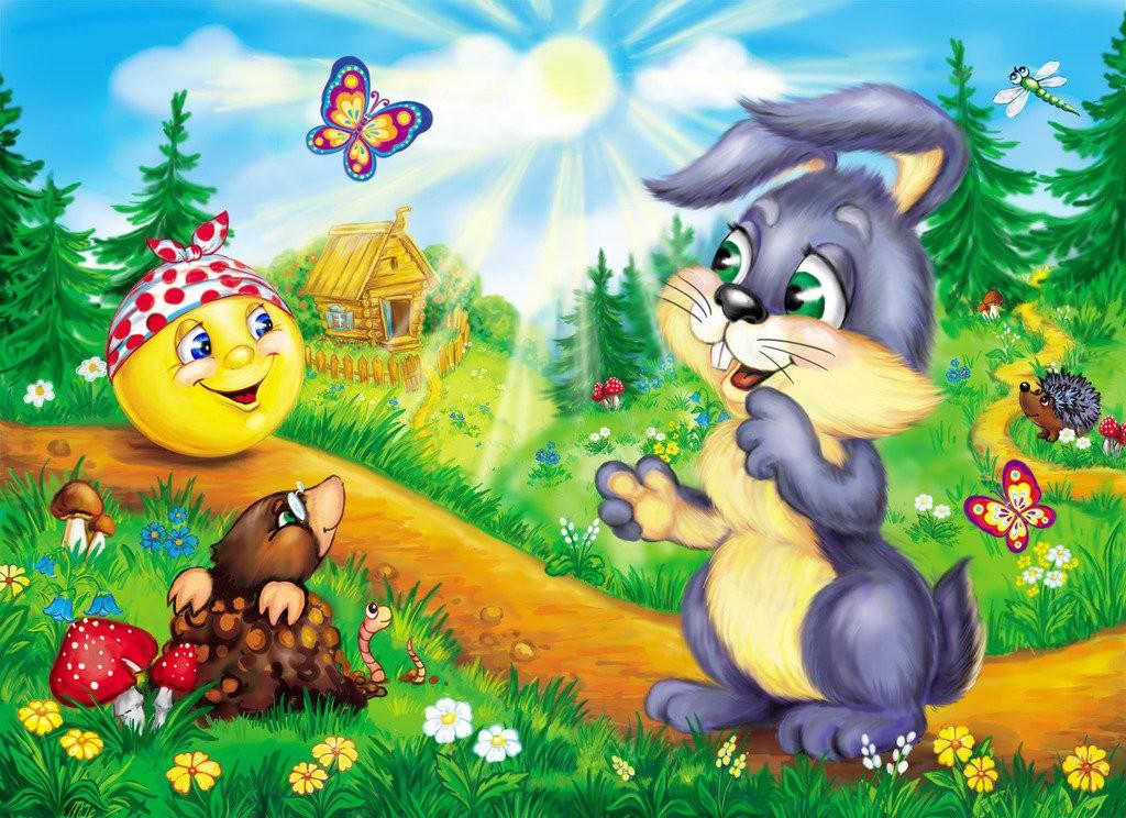 Колобок и заяц