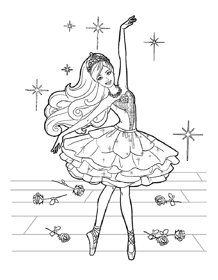 Барби балерина 199