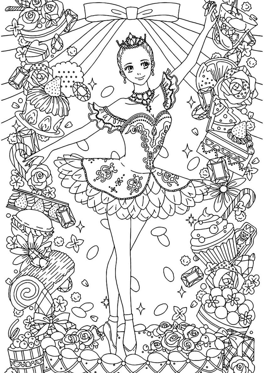 балерина антистресс