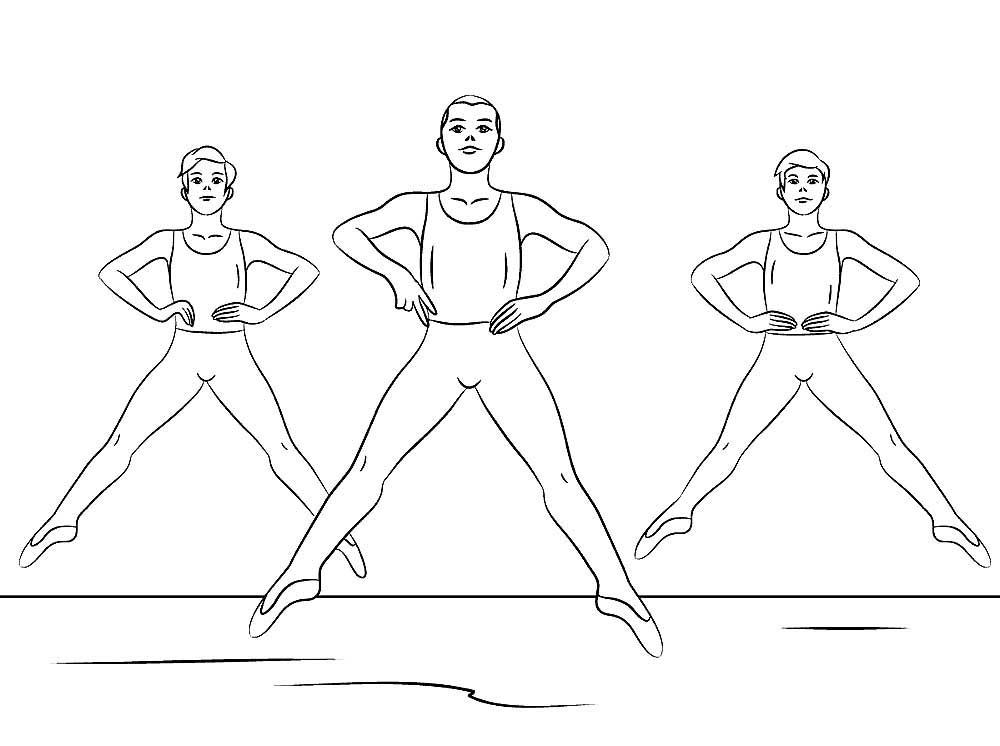 подростки в балете